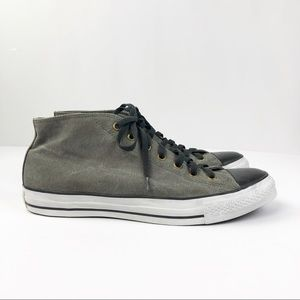 Converse Chuck Taylor Mid Top Sneaker Olive Black
